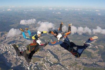 campeonato de v4 paraquedismo em juiz de fora mg skydive